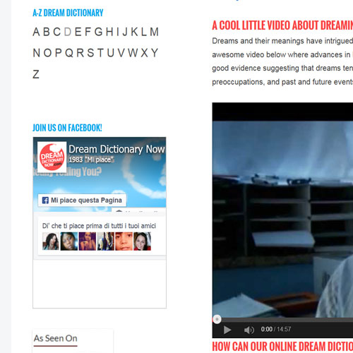 dreamdictionarynow.com